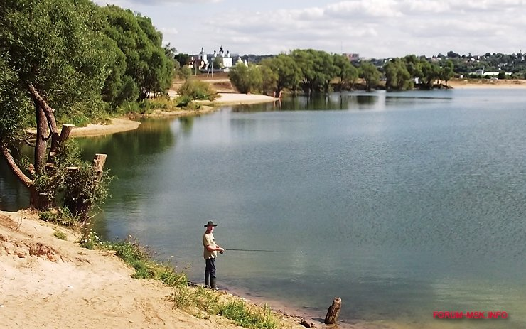 карьер белопесоцкий рыбалка