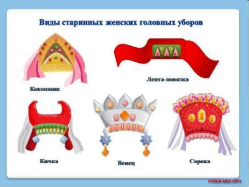 Русский женский головной убор