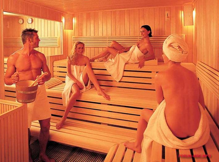Общие бани и совместный секс